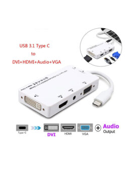 4-in-1 USB 3.1 Adapter
