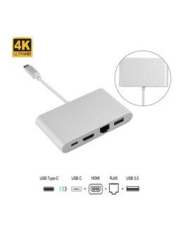 4-in-1 USB 3.1 Hub