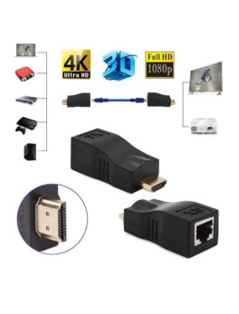 HDMI to RJ45 Repeater Extender