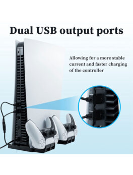PS5 Vertical Charging Stand