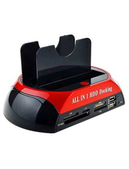 All in one HDD docking station