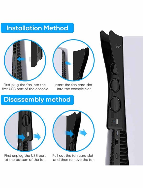 Radiator Fan for PS5 Console