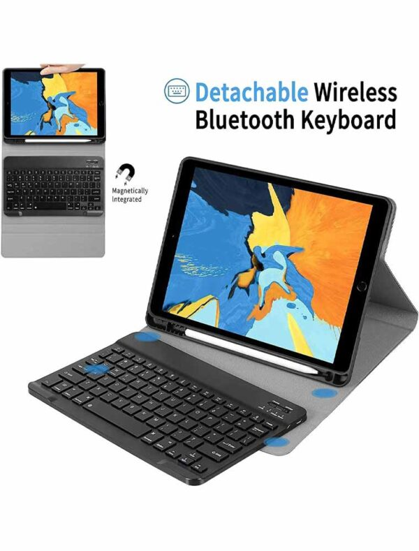 Case with keyboard for 10.2 inch iPad